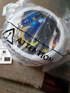 Nightlight LED Magic Diamonds  Lamp with 4 space Film's damaged box but new lamp