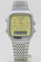 Orologio Citizen T011-313453 dual time vintage watch clock ana digit alarm crono