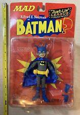 "2001 MAD Magazine Alfred E Neuman Batman Just Us League Posable 6"" Figure NIP"