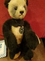 "Superb Knickerbocker Teddy Bear 'Wonton' in Box, All Tags 16"" LMT #73"