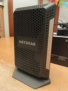NETGEAR CM1000-100NAS High-Speed Cable Modem - Black