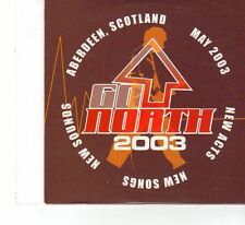 (FX62) Go North 2003, Scotland, 13 tracks various artists - CD
