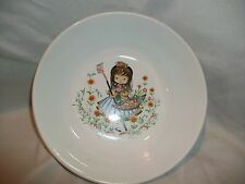 Vintage Ridgway Staffordshire England Little Girl Child Bowl