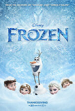 Frozen - A3 Film Poster - FREE UK DELIVERY