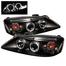 Projector Head Lights Lamps Pontiac G6 2005-2008 HALO LED - Black