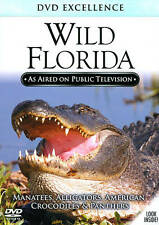 Wild Florida DVD..Panther, Alligator, Crocodile, Inc + Brand New! + Ships Fast!!