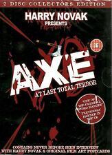Axe - At Last Total Terror - NUEVO 2 Set de DVDS