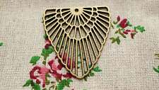 Triángulo Geométrico Bronce 3 encantos Jewellery Supplies C591