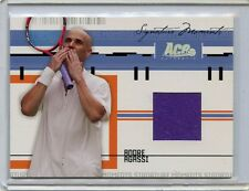 2005 ACE AUTHENTIC SIGNATURE MOMENTS ANDRE AGASSI MATCH WORN JERSEY # 450/500