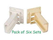 RV Designer H305 RV Cabinet Repair Parts Drawer Slide Sockets 'C' Shape Six Pack