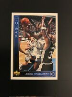 1993-94 Upper Deck Anfernee Hardaway Jumbo Rookie Card #382 Orlando Magic