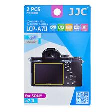 2x film LCD écran Protecteur Protection Dur H3 pour Sony a7ii a7sii a7rii