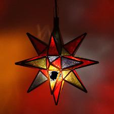 Suspensions Nasima multi Grand étoile Lampe Lampe suspendue sternleuchte L