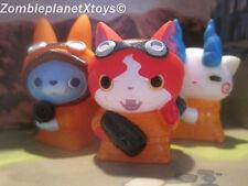 Yo-Kai Watch Busters 3 Finger Puppets Jibanyan Komasan Usapyon Bandai Figures