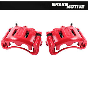 For Chevy S10 GMC Jimmy Sonoma Bravada Front Powder Coated Brake Caliper Pair