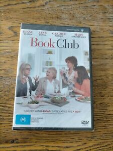 Book Club DVD Region 4 NEW & SEALED