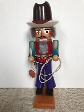"❤️STEINBACH  NUTCRACKER ~ THE COWBOY 17"" ~  #700 ~ RARE RETIRED COLLECTOR ITEM❤️"