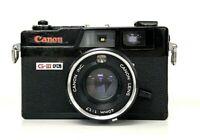【Exc++】Canon Canonet QL17 GIII black 35mm Rangefinder Film Camera From JP #C316