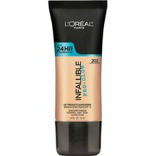 LOREAL Infallible Pro Glow Foundation Creamy Natural 202 24hr normal dry skin