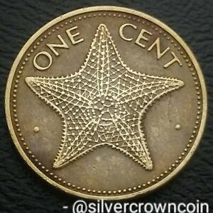 Bahama Islands 1 Cent 1979. KM#59. One Penny Coin. Starfish. Bahamas 🌟