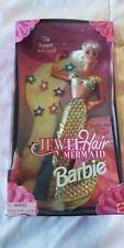 Jewel Hair Mermaid BARBIE Mattel 14586 RARE NIB