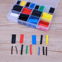 580Pcs Heat Shrink Tubing Insulation Shrinkable Tube 2:1 Wire Cable Sleeve Kit--