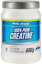 (29,98 € / kg) Body Attack 100% Pure Creatine  - 500g