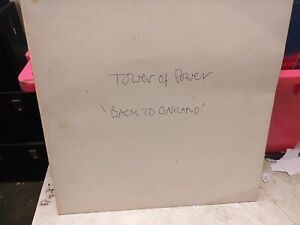 TOWER OF POWER BACK TO OAKLAND WHITE LABEL VINYL LP RECORD