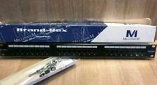 "Brand-Rex Giga Plus 24 Port Patch Panel For 19""cabinet Brand New And Boxed"