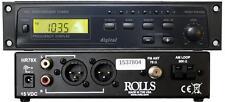 Rolls HR78X Am/fm Digital Tuner With Xlr Outpu