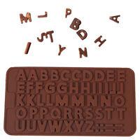 21*10.5*0.4cm Buchstabe Süßigkeit Kuchen Form Kochen Fondant Silikon Mould/./