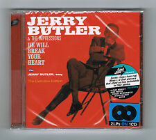 JERRY BUTLER & THE IMPRESSIONS - HE WILL BREAK YOUR HEART + ESQ. - NEUF NEW NEU