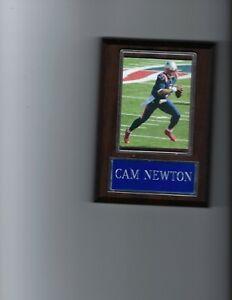 CAM NEWTON PLAQUE NEW ENGLAND PATRIOTS FOOTBALL NFL