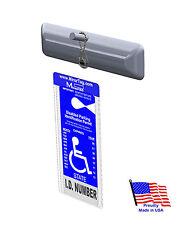 Mirortag Charm- Handicap Tag Holder & Protector. Magnetically Attach & Detach
