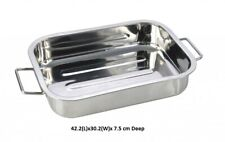 Stainless Steel Baking And Roasting Dishes For Sale Ebay