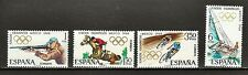 Spain Sc#1543-6 MNH 19th Olympic Games, Mexico City 1968