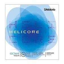 NEW D'Addario Helicore Octave Violin Set - H350 4/4 Size, Medium