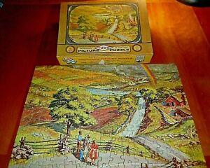 Vintage 1957 TUCO > 200p Jigsaw Puzzle TV Series 2950 The Promised Land EUC