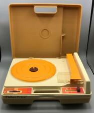 Vintage Fisher Price 825 Portable Record Player 2-Speed Phonograph 1978