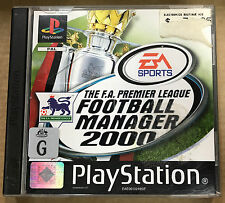 The F.A. Premier League Football Manager 2000 (Sony Playstaton 1, 1999)