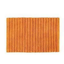 Tappeto 50x80 cm Gedy 100% cotone serie Bombay arancione