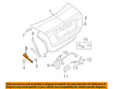 FORD OEM Trunk Lid-Hinge Left AE5Z5442701A
