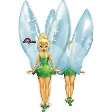 "XL 45"" Tinker Bell Disney Fairies See-Thru Super Shape Mylar Foil Balloon Party"