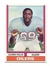 1974 Topps #48 Soloman Freelon Houston Oilers