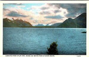 Looking From Atlin Inn, Scene on White Pass & Yukon Route (TBF)