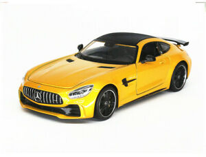 WELLY 1:24 Alloy Car Model Boys Toys Static Display For Mercedes-Benz AMG GTR