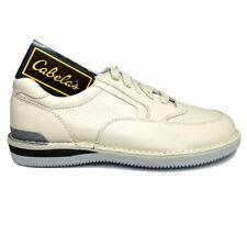 New Cabelas 82-1079 Tanned Pebbled Leather Vibram Sole Walking Shoes Men's 12 3E