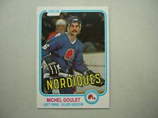1981/82 O-PEE-CHEE NHL HOCKEY CARD #275 MICHEL GOULET NM SHARP!! 81/82 OPC