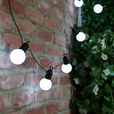 5M PLUG IN OUTDOOR INDOOR WEDDING PARTY  GLOBE FAIRY STRING 20 LED LIGHTS UK