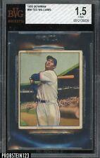 1950 Bowman #98 Ted Williams Boston Red Sox HOF BVG 1.5 FAIR